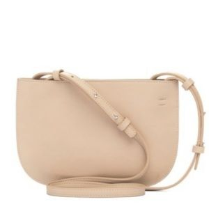 French Connection Beige/Creamy Crossbody Bag
